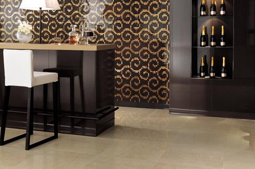 Talne keramične ploščice za kuhinjo