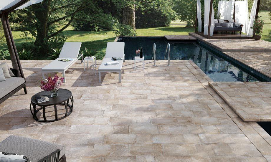 Zunanje keramične ploščice za teraso